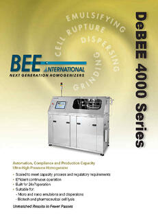 DeBEE 4000 Production Series_Page1