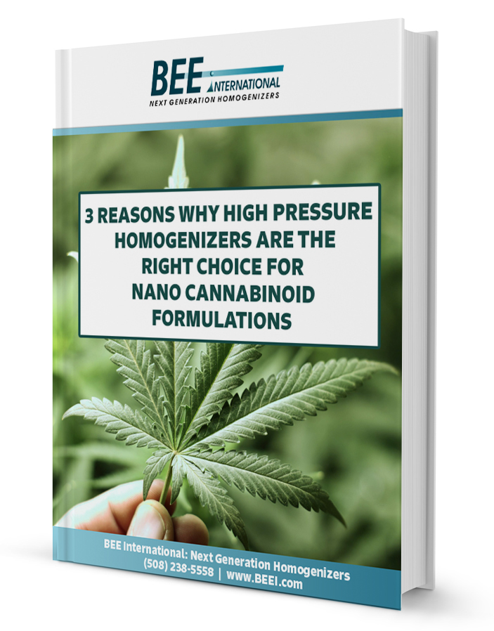 homogenizer for nano cannabinoid formulations